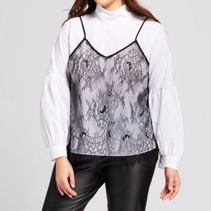 """Who What Wear """"Cami Blouse"""""""